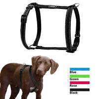 Soft Reflective H Type Pet Dog Harness for Small Medium Large Dogs Outdoor Walk