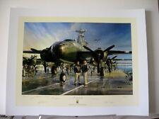 Hornet's Nest Doolittle Raid John Shaw B-25 Signed 5 Signed Aviation Art