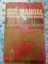 Scr Manual fifth Edition By General electric 1972