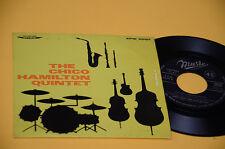 "CHICO HAMILTON QUINTET 7"" EP TOP JAZZ ORIG ITALY '50 EX DRUMS WEST"