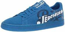 PUMA Suede Classic Sneaker, Clean Blue Silver, 10 M US