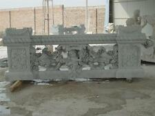 THE BEST MARBLE CHERUB HAND CARVED BALUSTRADE