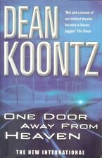 Dean Koontz ONE DOOR AWAY FROM HEAVEN (Paperback;2001)