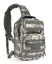 Military Style Army ACU Tactical Bug Out Sling Go Bag Backpack Conceal & Carry