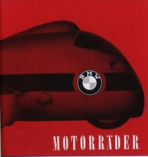 BMW PROSPEKT MOTORRAD 1959 MÜNCHEN R26 R50 R60 R69
