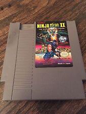 Ninja Gaiden 2 II Original Nintendo NES Game Cart NE4