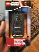 Lego Star Wars-Han Solo en Carbonita LED Lite-Key Chain 4895028512576 Nuevo