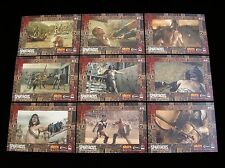 """2012 SPARTACUS TRADING CARDS  'GLADIATORS IN ACTION""""  9 CARD SUBSET"""