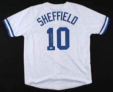 Gary Sheffield Signed Dodgers Jersey (PSA COA) 500 Home Run Club Member