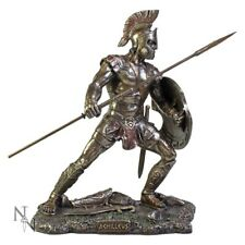 Warrior Achilleus of the Agamemnon in the Trojan War Bronze Figurine Statue