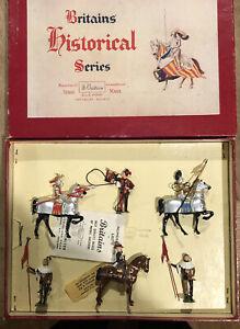 Britains: Boxed Set 1258 - The Tournament. Post War c1950s