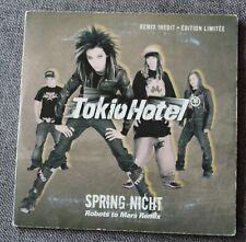 Tokio Hotel, spring nicht robots to mars remix, CD single promo