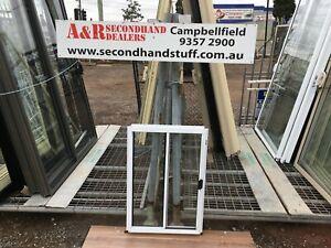 NEW Aluminium SLIDING WINDOWS 900h x 600w (Approx Size) 5 COLOURS