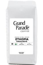 Organic Ethiopian Yirgacheffe Coffee, Fresh Dark Roasted Whole Beans | 5 lbs Bag