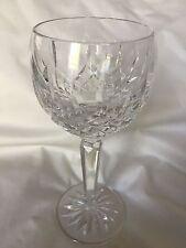 "Waterford Cut Crystal LISMORE Wine Hock Goblet Stem Glass-7 1/2"""