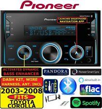 FITS 03 04 05 06 07 08 COROLLA AM/FM BLUETOOTH USB AUX MP3 CAR RADIO STEREO PKG