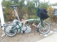 Brompton M6R with SON Lighting, Telescopic Seat Post and T Bag