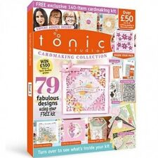 TONIC STUDIOS MAGAZINE CARDMAKING COLLECTION ISSUE 5 FREE DIE EMBOSSING FOLDERS