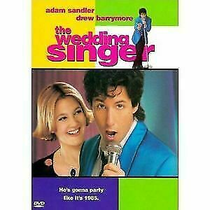 Like New WS DVD The Wedding Singer Adam Sandler Drew Barrymore