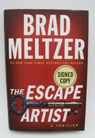 The Escape Artist by Brad Meltzer Brand New 2018 SIGNED