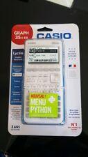 Calculatrice graphique Casio Python Graph35 + E II neuf ORIGINAL 1