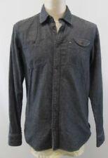 Camisas y polos de hombre de manga larga Tommy Hilfiger de color principal multicolor