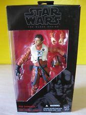 "2015 Hasbro Star Wars Black 6"" The Force Awakens X-Wing Suit Poe Dameron New MIP"