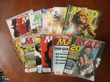 Group Lot 12 Issues 2008 MAD Magazine
