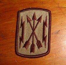U.S.ARMY PATCH,SSI, DCU,DBDU,DESERT, SOLDIERS MEDIA CENTER