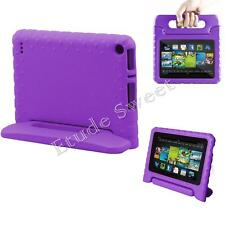 Kid Foam Protective Shock Proof Stand Handle Case Cover for iPad 2 3 4 Kindle Purple