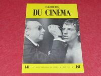 [REVUE LES CAHIERS DU CINEMA] N° 141 # MARS 1963 GO WEST YOUNG MAN EO 1rst Print