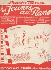 """Alexandre Tansman - LES JEUNES AU PIANO 2e recueil Facile """"Pièces de fantaisie"""""""