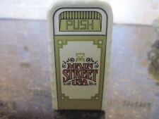 Disney, Collectible Ceramic Trash Can Salt or Pepper Shaker, Main Street USA