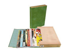 BCW Comic Book Stor-Folio Storage Portfolio Box Carrying Case - Green Book Style