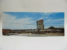 Roadside Americana Panoramic Postcard - Stonewall Jackson Motor Lodge Jackson MS