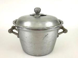 vintage EVERLAST aluminum ice cooler or bucket, #5008 1940's
