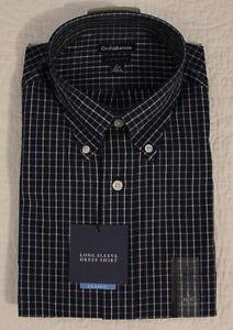 NEW MENS CROFT & BARROW CLASSIC FIT LONG SLEEVE DRESS SHIRT SZ S, M, L, XL, XXL