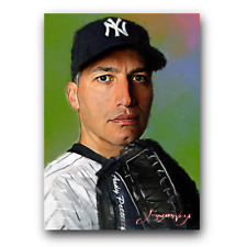Andy Pettitte #5 Sketch Card Limited 25/50 Edward Vela Signed