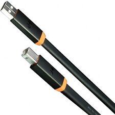 NUEVO Oyaide NEO D + USB CLASE A Negro/Naranja 1.0m ALTA CALIDAD DJ Cable