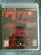 DEAD ISLAND RIPTIDE SPECIAL EDITION UK PS3 GAME NEW SEALED TEARSTRIP PLAYSTATION