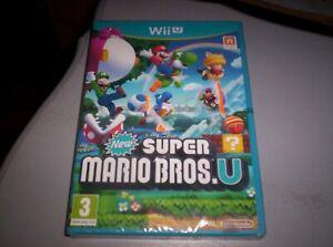new Super Mario bros  U - nindendo wii u neuf sous blister version fr