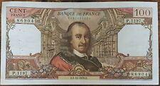 Billet de 100 francs CORNEILLE 5 - 10 - 1978 FRANCE P.1197