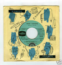 45 RPM SP THEO SARAPO LA MAISON QUI NE CHANTE PLUS