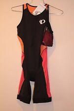 Pearl Izumi Elite Pursuit Women's Triathlon Suit Size Large Bk/Clem 13211601 New