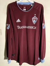 Adidas Authentic MLS Jersey Colorado Rapids Team Burgundy sz XL