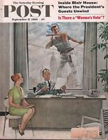 The Saturday Evening Post September 17 1960 Norman Rockwell w/ML 080217nonDBE