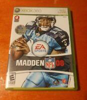 Madden NFL 08 Microsoft Xbox 360 EA Sports Electronic Arts