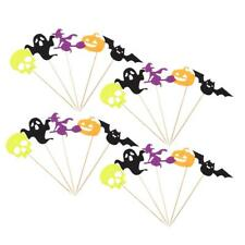 20Pieces Handmade Party Cocktail Halloween Ghost Toothpicks Bar Accessories