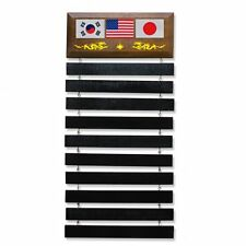 Standard Wall Mounted Martial Arts Belts Display Stand Gifts Karate Judo TKD