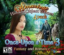 Once Upon A Time 3 PC Games Windows 10 8 7 XP Computer hidden object game 4 pack